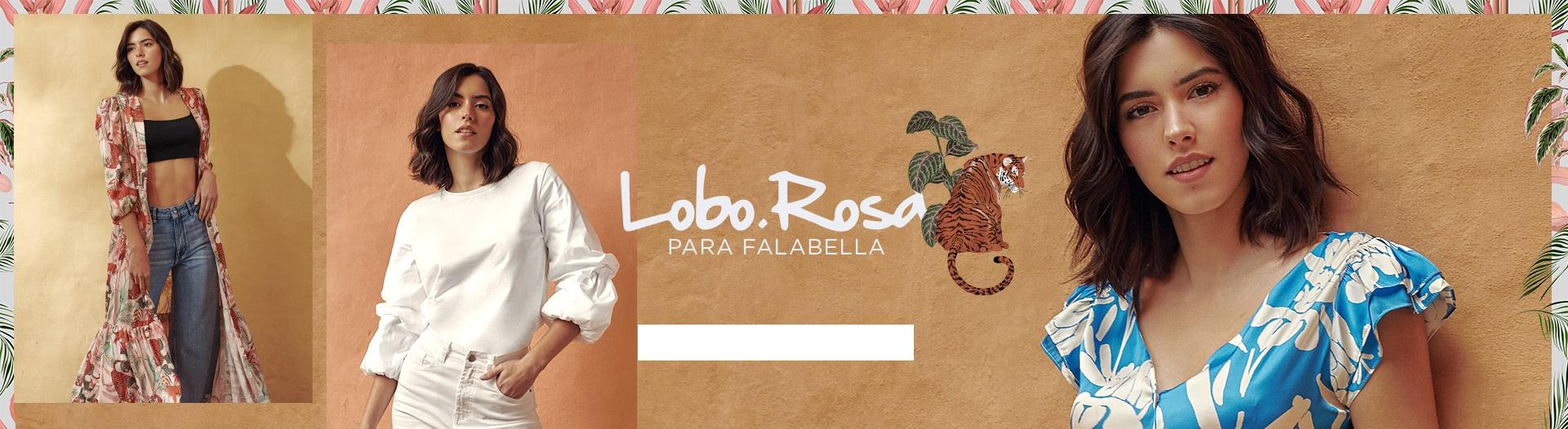 Paulina Vega Colección Lobo Rosa Falabella