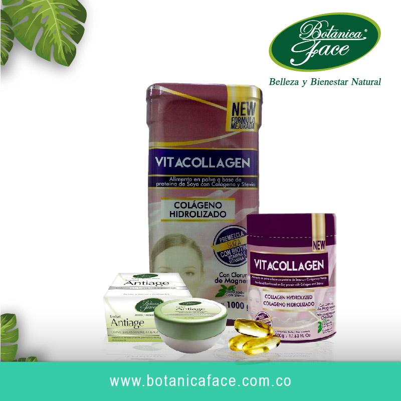 Las vitaminas engordan y causan hambre. Productos con colágeno Botanica Face