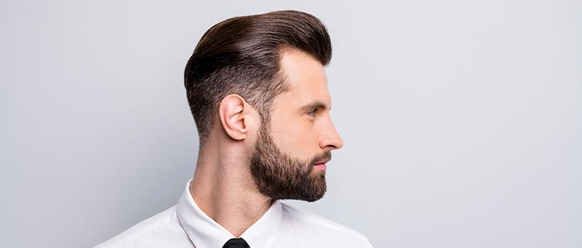 Hombres, la barba está de moda